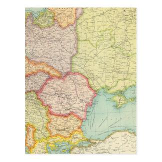 Comunicações de Europa Oriental Cartão Postal