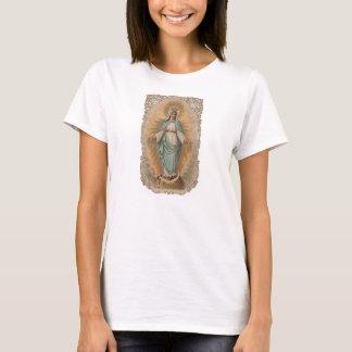Concepção imaculada da Virgem Maria abençoada Tshirts