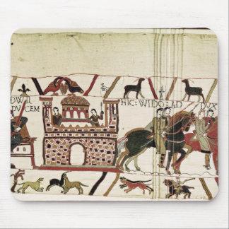 Conde Harold da tapeçaria de Bayeux ao duque de No Mouse Pad