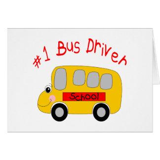 Condutor de autocarro #1 cartões