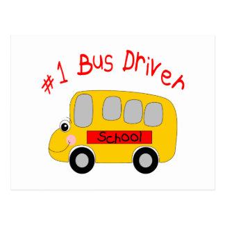 Condutor de autocarro #1 cartão postal