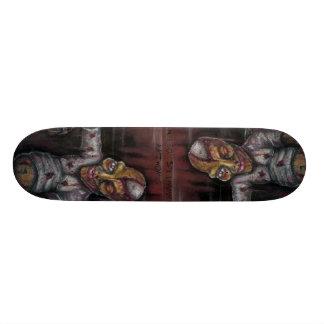 Conduza perto, movimentação perto, Nelson Spielman Shape De Skate 18,4cm