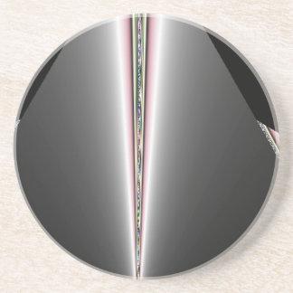Cone de prata com sugestões dos Pastels Porta Copos De Arenito