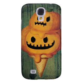 Cone do sorvete da abóbora do Dia das Bruxas Galaxy S4 Case
