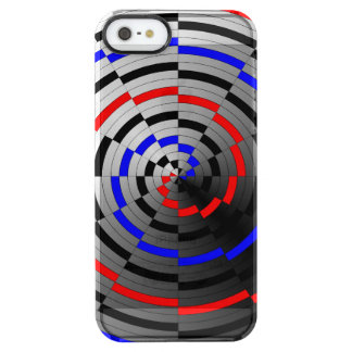 Cone espiral capa para iPhone SE/5/5s clear