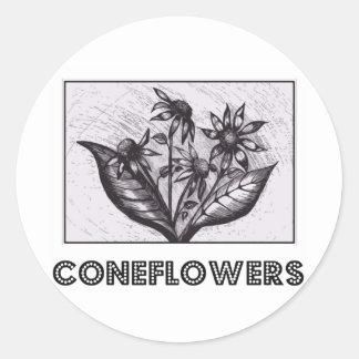 Coneflowers Adesivo