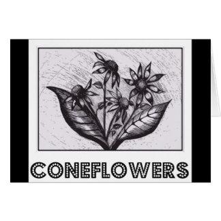 Coneflowers Cartão