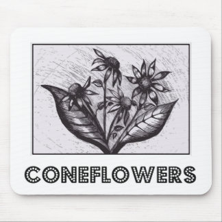 Coneflowers Mouse Pad
