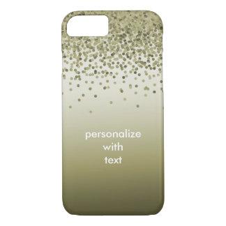 Confetes de Ombre do ouro Capa iPhone 8/7