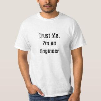 Confie em mim, sou humano tshirts