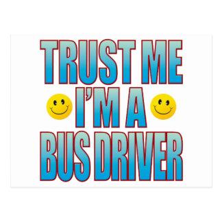 Confie-me a vida B do condutor de autocarro Cartão Postal