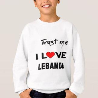 Confie-me amor Líbano de I T-shirts