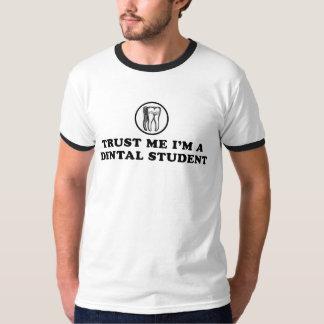 Confie-me estudante dental t-shirts