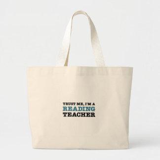 Confie-me, mim são um professor de leitura bolsas