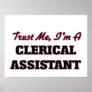 Confie que eu mim é um assistente de escritório