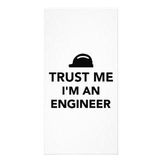 Confie que eu mim é um engenheiro