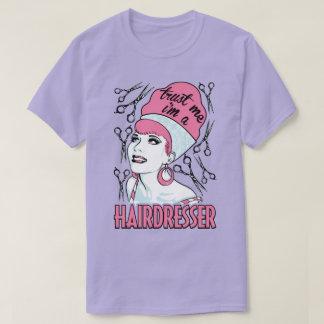 Confie que eu mim é um T do cabeleireiro do Camiseta