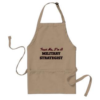 Confie que eu mim é uma estratega militar avental