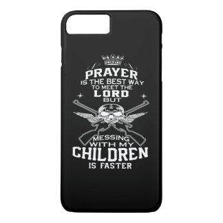 Confusão com minhas crianças capa iPhone 7 plus