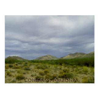 Congresso, caminhada da arizona/caminhada 8/22/10 cartao postal