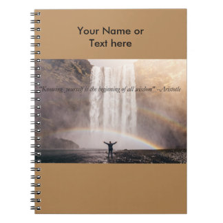 Conhecendo-se citações - caderno de Sprial