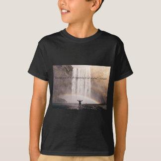 Conhecendo-se citações - t-shirt dos miúdos