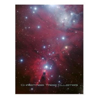 Conjunto da árvore de Natal e nebulosa do cone, NG Cartões Postais