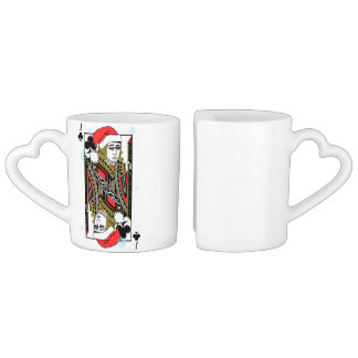 Conjunto De Caneca De Café Feliz Natal Jack dos clubes