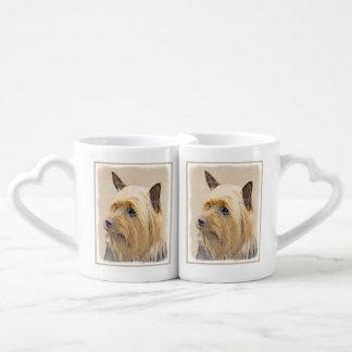 Conjunto De Caneca De Café Terrier de seda