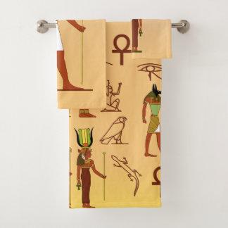 Conjunto De Toalhas Deuses e deusas egípcios