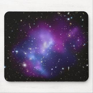 Conjuntos cósmicos bonitos da galáxia do espaço mouse pad