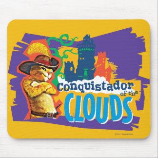 Conquistador das nuvens mousepads