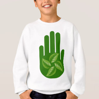 Consciência ambiental do reciclar camiseta