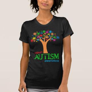 Consciência do autismo do apoio t-shirt
