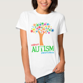 Consciência do autismo do apoio tshirt