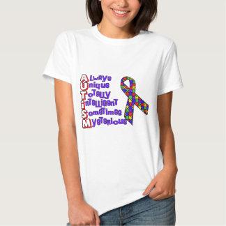 Consciência do autismo t-shirt