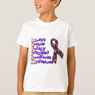 Consciência do autismo tshirts
