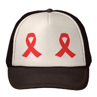 Consciência do cancer da fita do AIDS do HIV Bonés