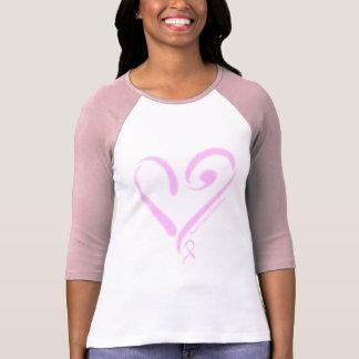 Consciência do cancro da mama camisetas