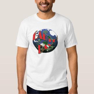 Consciência do Dia da Terra, t-shirt relativos à