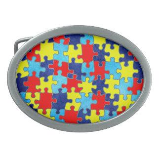 Consciência-Quebra-cabeça do autismo por Shirley