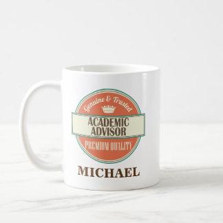 Conselheiro académico presente personalizado da caneca de café