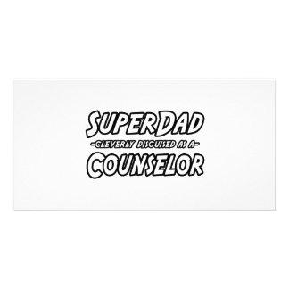 Conselheiro de SuperDad… Cartao Com Fotos