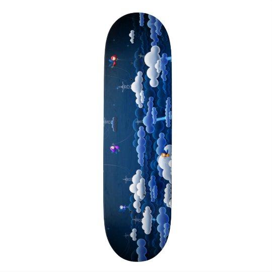 Conselho feito sob encomenda do parque das nuvens shape de skate 18,1cm