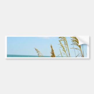 Conserva descalça da praia adesivo de para-choque