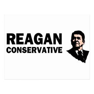 Conservador de Reagan (estilo 2) Cartão Postal