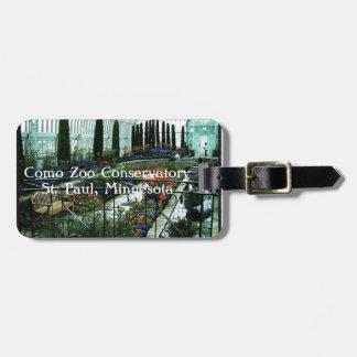 Conservatório do jardim zoológico de Como - Etiqueta De Mala De Viagem