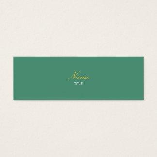 Consolda-maior Elegante Cartão De Visitas Mini