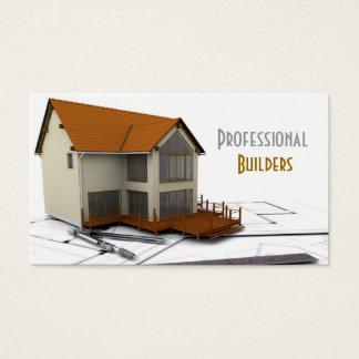 Construtores/cartão de indústria da construção cartão de visitas