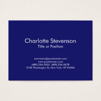 Consultante azul da meia-noite carnudo cartão de visitas
